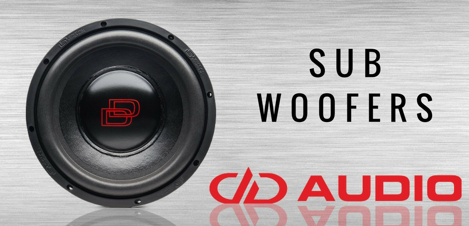 DD Audio Subwoofers