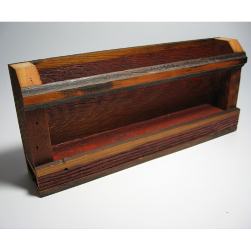 Barnwood Trays Wine Racks