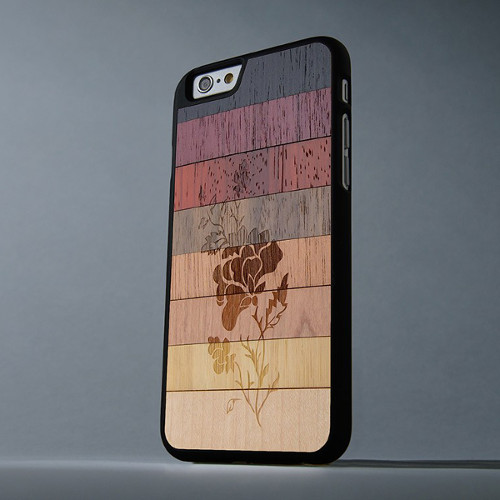 Carved Custom Wood Phone Cases & Skins