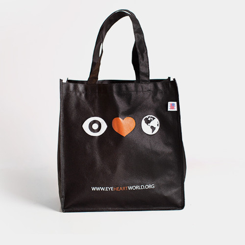 Eye Heart World Tote