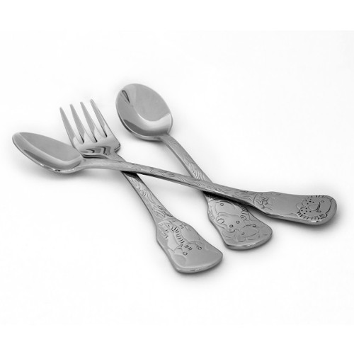 Kleynimals 3-Piece Baby Flatware Set