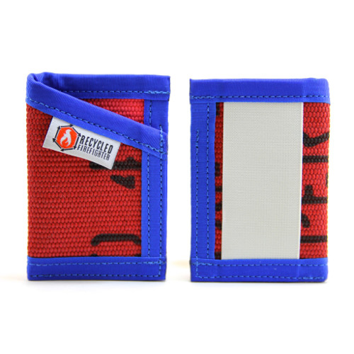 Wallets - Recycled Firehose Wallets - Recycled Firefighter