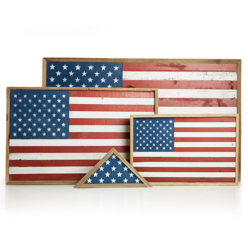 Wooden Flags | Sangamon Reclaimed