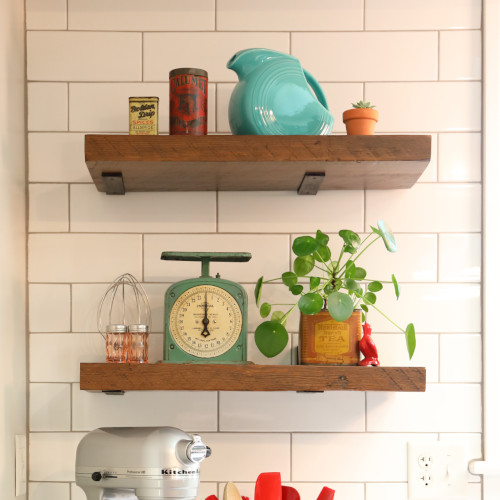 Floating Shelves | Sangamon Reclaimed