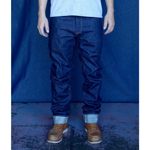 Raw Selvedge Denim Jeans | Tellason